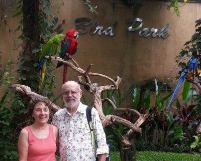 Visiting the Bali Bird Park
