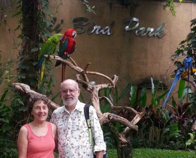 Visiting the Bali Bird Park